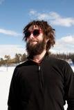 αρσενικό πορτρέτο περίεργα Στοκ εικόνες με δικαίωμα ελεύθερης χρήσης
