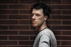 αρσενικό πρότυπο πορτρέτο Στοκ Φωτογραφίες