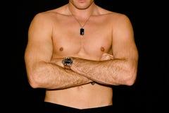 αρσενικό σωμάτων Στοκ εικόνα με δικαίωμα ελεύθερης χρήσης