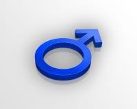 αρσενικό σύμβολο Στοκ εικόνες με δικαίωμα ελεύθερης χρήσης