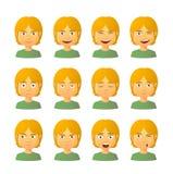 Αρσενικό σύνολο έκφρασης ειδώλων Στοκ φωτογραφία με δικαίωμα ελεύθερης χρήσης