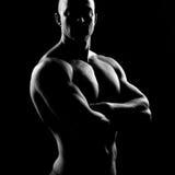 Αρσενικό σώμα ομορφιάς Στοκ φωτογραφίες με δικαίωμα ελεύθερης χρήσης