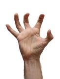 αρσενικό χεριών πέρα από το &lambd στοκ φωτογραφία με δικαίωμα ελεύθερης χρήσης