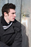Αρσενικό Brunette Στοκ φωτογραφία με δικαίωμα ελεύθερης χρήσης