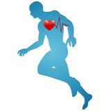 Αρσενικό jogger απεικόνιση αποθεμάτων