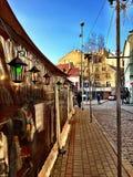 Αρτεσιανή αγορά στην παλαιά Ρήγα στοκ φωτογραφία με δικαίωμα ελεύθερης χρήσης