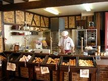 αρτοποιείο γαλλικά Στοκ Φωτογραφίες