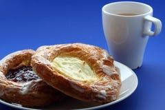 αρτοποιείο δανικά στοκ εικόνα