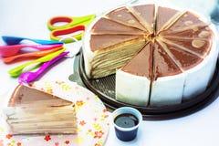 Αρτοποιείο κέικ Στοκ Φωτογραφία