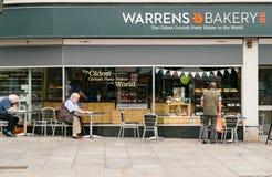 Αρτοποιείο κυκεώνων - ο παλαιότερος Cornish κατασκευαστής ζύμης στον κόσμο στοκ εικόνα με δικαίωμα ελεύθερης χρήσης