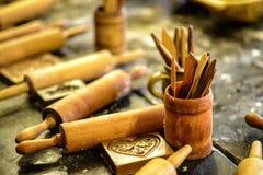 Αρτοποιείο μελοψωμάτων στο Τορούν στοκ εικόνες με δικαίωμα ελεύθερης χρήσης