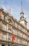 Αρτοποιείο σπιτιών στο δήμαρχο Plaza της Μαδρίτης, Ισπανία Στοκ Φωτογραφίες