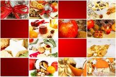 Αρτοποιείο Χριστουγέννων, ετικέττες δώρων Στοκ Εικόνες