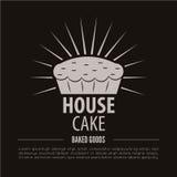 Αρτοποιείο logotype Αρτοποιείο ή αναπαραγμένο στοιχείο σχεδίου καταστημάτων εκλεκτής ποιότητας Στοκ Εικόνα