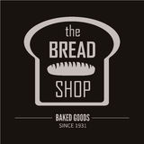 Αρτοποιείο logotype Αρτοποιείο ή αναπαραγμένο στοιχείο σχεδίου καταστημάτων εκλεκτής ποιότητας Στοκ φωτογραφία με δικαίωμα ελεύθερης χρήσης