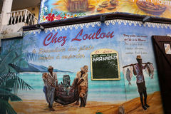 Αρτοποιείο Loulou σε Άγιο Gilles, νησί συγκέντρωσης Λα, Γαλλία στοκ εικόνες με δικαίωμα ελεύθερης χρήσης