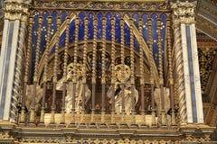 Αρτοφόριο λεπτομέρειας επάνω στο βωμό του SAN Giovanni σε Laterano Στοκ Εικόνες
