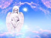 Αρχάγγελος Gabriel αγγέλου Στοκ Φωτογραφίες