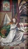 Αρχάγγελος Gabriel, Annunciation Στοκ εικόνες με δικαίωμα ελεύθερης χρήσης