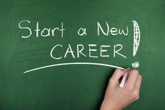 Αρχίστε μια νέα σταδιοδρομία στοκ εικόνα