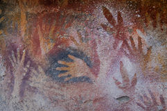 αρχαία έργα ζωγραφικής Πατ Στοκ φωτογραφία με δικαίωμα ελεύθερης χρήσης