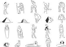 αρχαία Αίγυπτος ελεύθερη απεικόνιση δικαιώματος