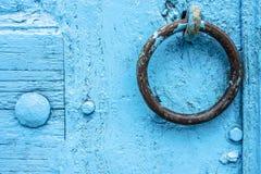 αρχαία λαβή πορτών Στοκ εικόνες με δικαίωμα ελεύθερης χρήσης