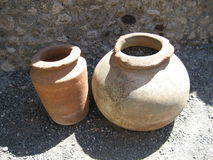 αρχαία αγγειοπλαστική Στοκ εικόνες με δικαίωμα ελεύθερης χρήσης