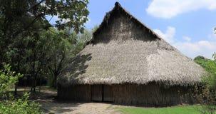 Αρχαία αγροτική καλύβα αχύρου της Μπογκοτά των ντόπιων Κολομβία φιλμ μικρού μήκους