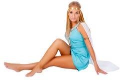 Αρχαία αιγυπτιακή γυναίκα - Κλεοπάτρα στοκ εικόνες με δικαίωμα ελεύθερης χρήσης
