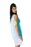 αρχαία αιγυπτιακή γυναίκα της Κλεοπάτρας Στοκ Φωτογραφία
