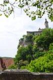 Αρχαία ακρόπολη Rocamadour, Γαλλία Στοκ εικόνα με δικαίωμα ελεύθερης χρήσης