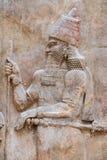 Αρχαία ανακούφιση Babylonia και Assyria bas στοκ φωτογραφίες με δικαίωμα ελεύθερης χρήσης