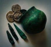 αρχαία αντικείμενα Στοκ Φωτογραφίες