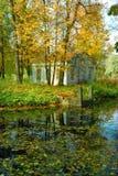 αρχαία αποβάθρα πάρκων εξ&omicron Στοκ φωτογραφία με δικαίωμα ελεύθερης χρήσης