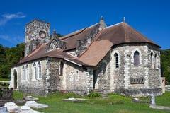 Αρχαία αποικιακή εκκλησία. Jamaica.City τοπίο Στοκ εικόνες με δικαίωμα ελεύθερης χρήσης