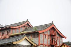 αρχαία αρχιτεκτονική Κίνα Στοκ Φωτογραφία