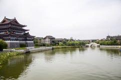 αρχαία αρχιτεκτονική Κίνα Στοκ φωτογραφία με δικαίωμα ελεύθερης χρήσης