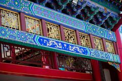 αρχαία αρχιτεκτονική κινέζικα Στοκ Φωτογραφία