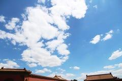 αρχαία αρχιτεκτονική κινέζικα Στοκ εικόνες με δικαίωμα ελεύθερης χρήσης