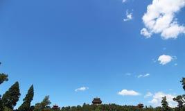 αρχαία αρχιτεκτονική κινέζικα Στοκ Εικόνες