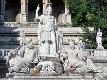 αρχαία αρχιτεκτονική Ρώμη Στοκ Φωτογραφία