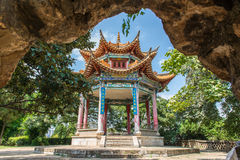 Αρχαία αρχιτεκτονική της Κίνας Στοκ φωτογραφίες με δικαίωμα ελεύθερης χρήσης