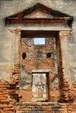Αρχαία αρχιτεκτονική Wat Pra Sri Ratana Mahatat παγοδών σε Lopbur Στοκ εικόνα με δικαίωμα ελεύθερης χρήσης