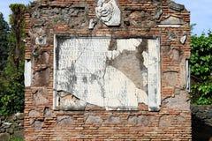 αρχαία λατινικά επιγραφής Στοκ Εικόνες