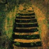 αρχαία βήματα Στοκ Φωτογραφία