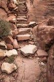 Αρχαία βήματα Στοκ Φωτογραφίες