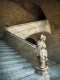 αρχαία Βαρκελώνη Στοκ Εικόνες
