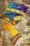 αρχαία βασίλισσα της Αιγύ διανυσματική απεικόνιση