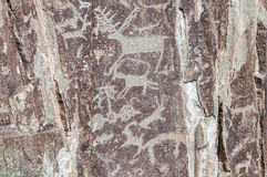 Αρχαία βουνά βράχου σχεδίων Στοκ εικόνα με δικαίωμα ελεύθερης χρήσης